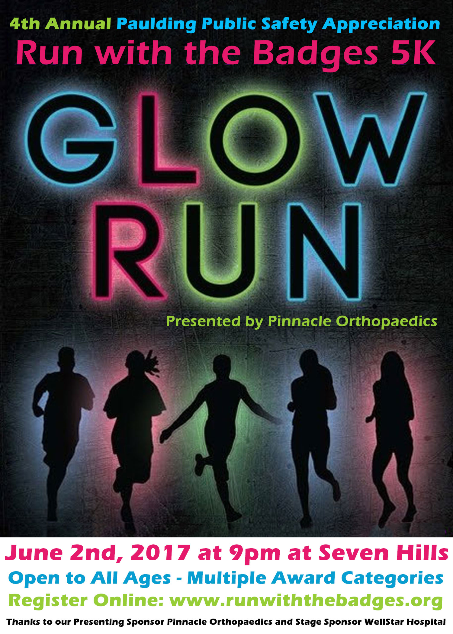 Run with the Badges 5K Glow Run