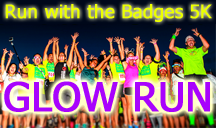 Run With the Badges - Glow 5K at Seven Hills